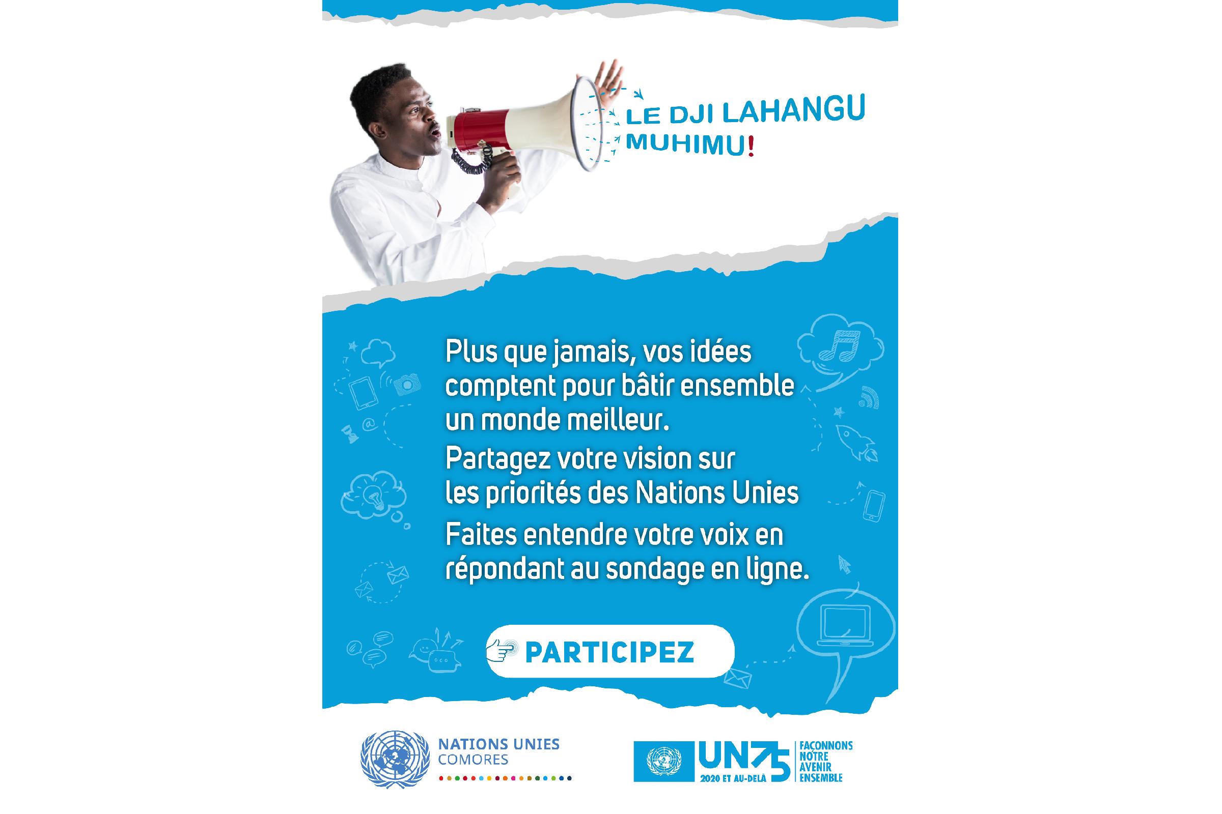 Affiche UN75 Campaign