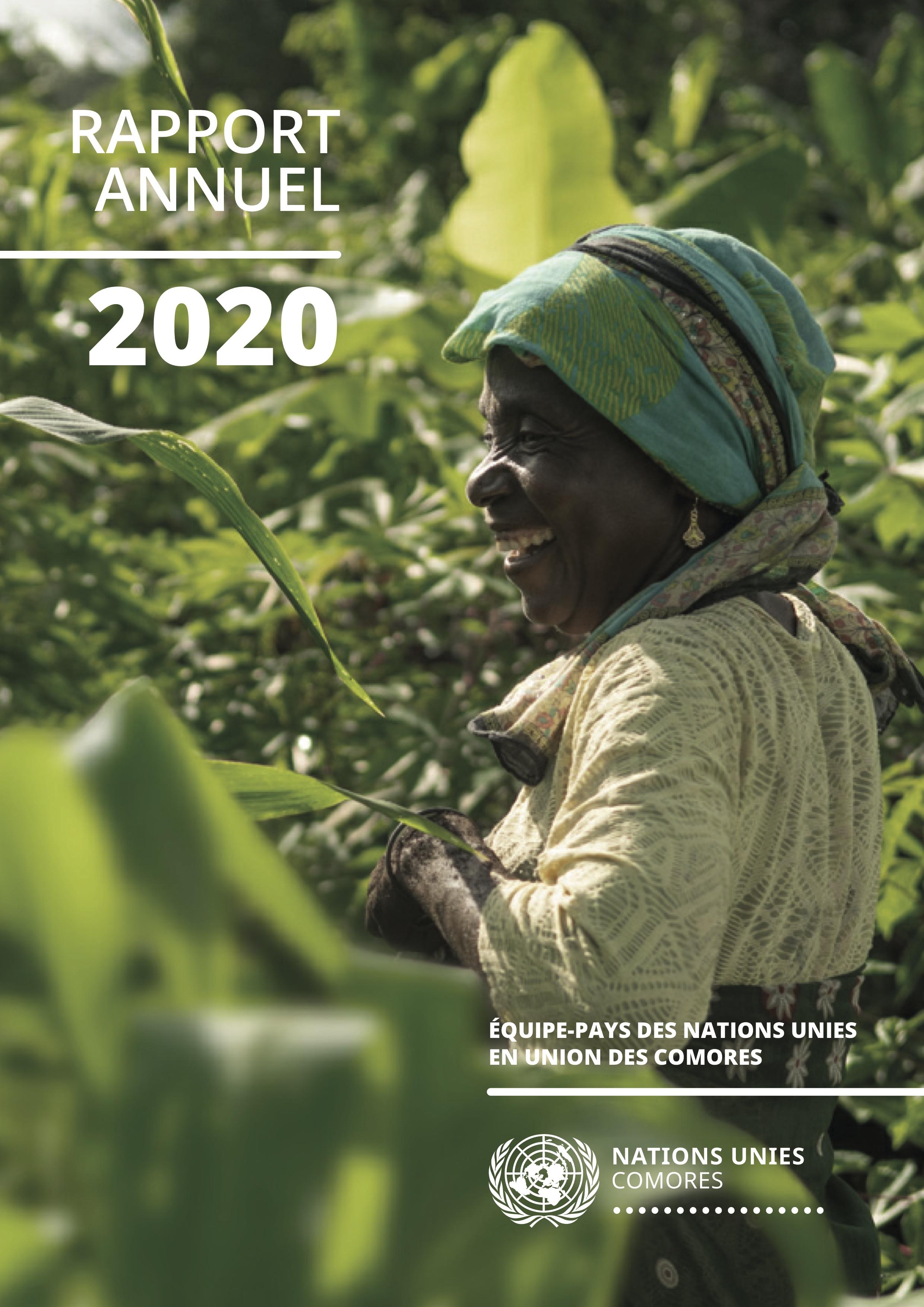 RAPPORT ANNUEL DE L'ÉQUIPE-PAYS DES NATIONS UNIES AUX COMORES - 2020