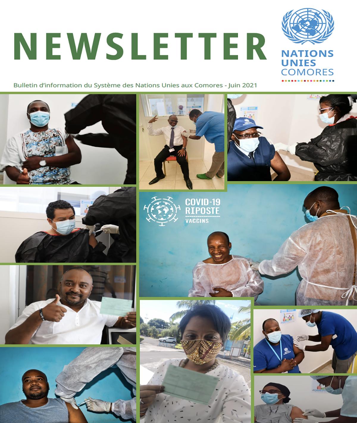 Newsletter - Nations Unies Comores Juin 2021